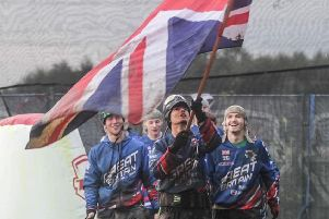 Lewis Beswick from Fairfield has represented Great Britain at the World Paintballing Championships
