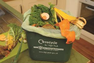 The compost made from food waste is used as a soil improver for local fields rather than being send to landfill.