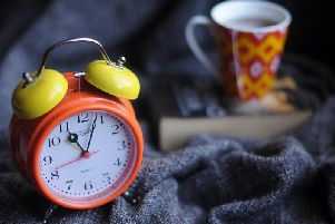 Clocks will go back an hour this month.