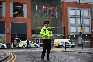 Police at the scene. Photo - Anthony Devlin/Getty Images