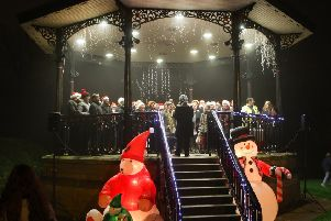 The Buxton Studio Choir entertain