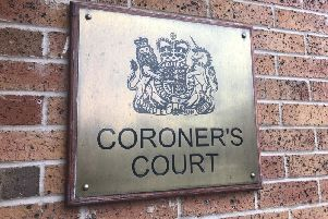 Cyril McGuinness' inquest opened in Chesterfield on Monday.