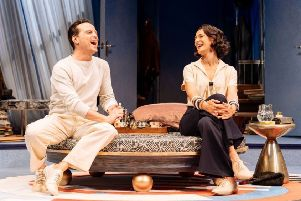 TV's Sherlock star Andrew Scott in Present Laughter which screens live to Derbyshire cinemas