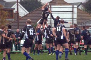 Action from Buxton Stags' terrific win over Grimsby in their build-up to the Senior Vase quarter-finals.