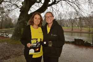 The Thomas Theyer Foundation is launching a new fundraiser in memory of Thomas, pictured is Chris Theyer and Sharon Stanley