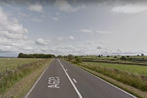 Man and woman die at scene of Derbyshire crash