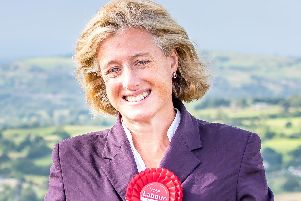 Ruth George has lost her seat in High Peak to the Conservatives,.