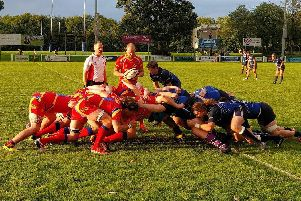 Buxton RUFC Director of Rugby delighted as club rise to challenge