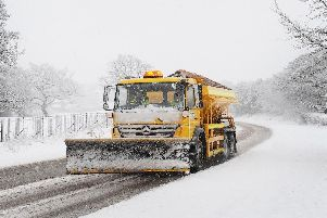 Forecasters have warned of ice and snow across Derbyshire