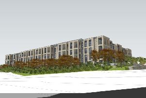 Artist impression of what the retirement village may look like