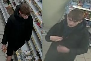 Police hunt after man hit in face with wine bottle