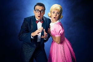 Ben Adams and Joanne Clifton in The Rocky Horror Show which tours to Sheffield Lyceum in February 2019.