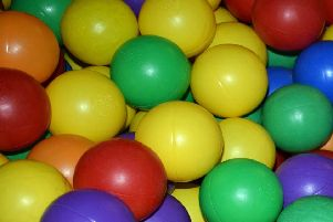 The ball pit is always a favourite at soft play