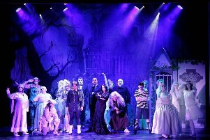 The Addams Family Musical at New Mills Art Theatre. Photo by www.mphotographic.co.uk