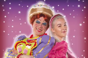 Dick Whittington at Buxton Opera House.