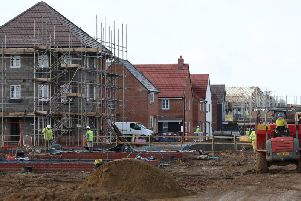The number of new houses being built in the High Peak district has dropped