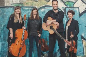 Jon Boden and The Remnant Strings. Photo by Chris Saunders.