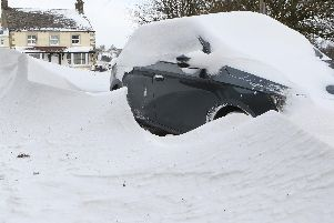 Beast from the East hits Buxton