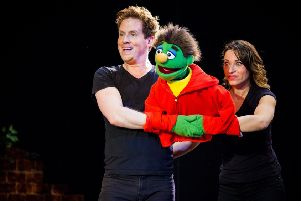 Avenue Q touring to Derby and Sheffield in 2019.