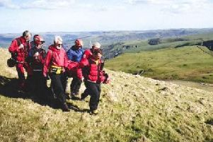 Volunteers at Buxton Mountain Rescue Team and Edale Mountain Rescue Team.