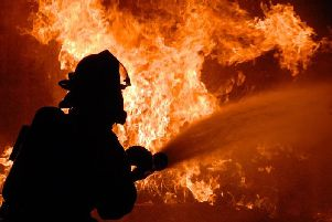 Fire chiefs tackled a blaze in Buxton this morning. Stock image.