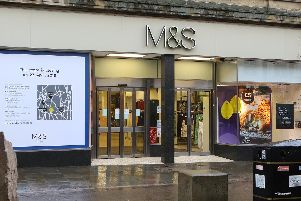 Buxton's M&S store, which closed on Saturday