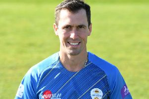 Wayne Madsen hit a century against Warwickshire on Tuesday.