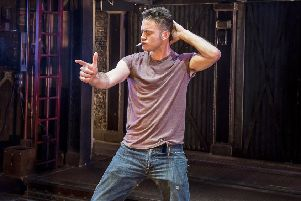 Gary Lucy in The Full Monty.