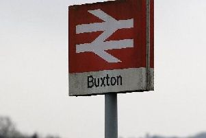 A person has died after being found on train tracks between Buxton and Hazel Grove this morning.