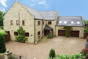 Meadow House at Hardmeadow Lane, Ashover.