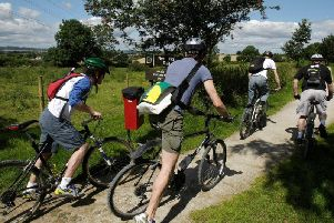 Cyclists in Derbyshire are becoming increasingly concerned about the increasing number of booby traps being left out for riders