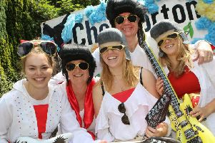 Elvis overload on the Chelmorton float at last year's Buxton Carnival. Photo by Jason Chadwick.