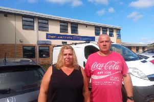 Janice and Terry Mellor of Whaley Bridge