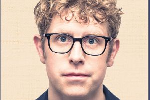 Josh Widdicombe from TV's The Last Leg hotfoots it to Derbyshire