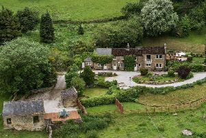 Swallow Cottage is in Philhough in Stanton-in-the-Peak