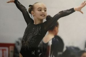 Ten-year-old Charlotte Cooke is regarded as a talented gymnast with a successful future.