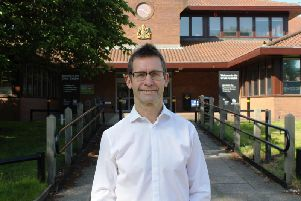 Andy Abrahams, mayor of Mansfield