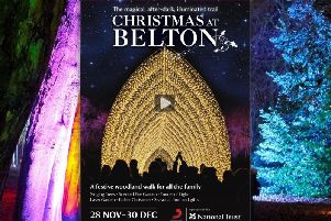 Christmas At Belton page turning E-leaflet with booking links and video