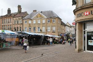 Market Place, Mansfield.