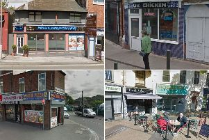 These are the takeaways and restaurants in Mansfield that were given one and two star hygiene ratings this year.