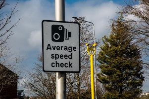 The new devices will be average speed cameras