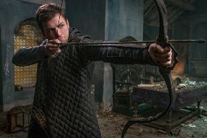 Taron Egerton as Robin Hood. Picture: Larry Horricks.