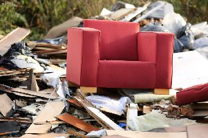 Fly tipping incidents have increased in the last year. Photo: PA/Chris Radburn