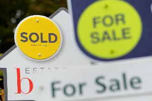 House prices in Nottinghamshire fell slightly at the end of last year