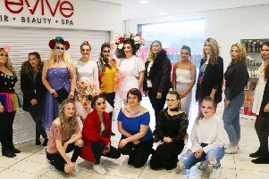 Some of the students who took part in the industry week at West Nottinghamshire College