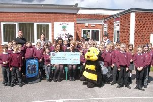 Leas Park Junior School, Mansfield Woodhouse, previously won �2,000 on Shop for Schools.
