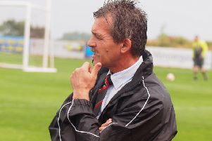 Rudy Funk, who has left AFC Mansfield after four successful years and two promotions with the club.