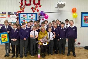 Emotional send off for Sutton school teaching assistant