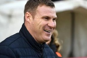 Flitcroft leads his men to Meadow Lane today