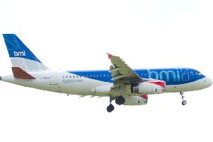 East Midlands-based airline Flybmi employs 376 staff. Photo: John MacDougall/AFP/GettyImages.